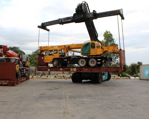 Heavy equipment handling