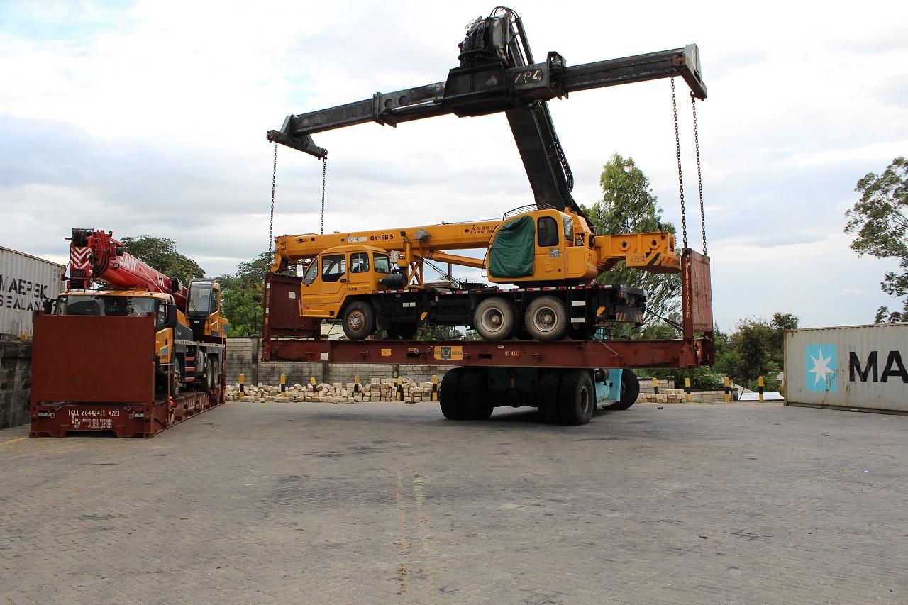 Heavy equipment handling